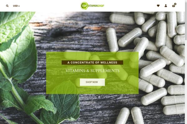 topvitaminshop.com - A concentrate of wellness