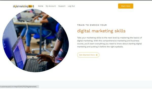 digitalmarketingdev.com - Digital marketing Course | Real Human Presentation| Zero Cost of Operation