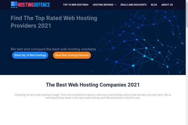 hostingdefence.com - 100% FULLY AUTOMATED WEB HOSTING REVIEWS SITE, Make EASY $50-200/Lead, Bonus BIN