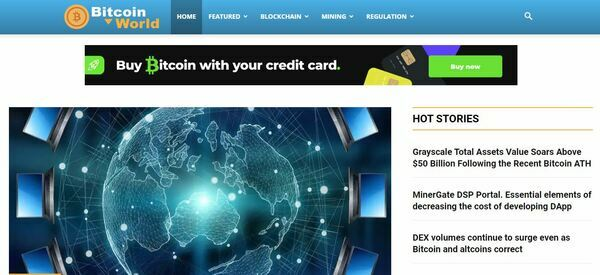 BitcoinWorld.Website - Bitcoin News Auto Update Website, Amazing BIN Bonuses - Ready to Make Money