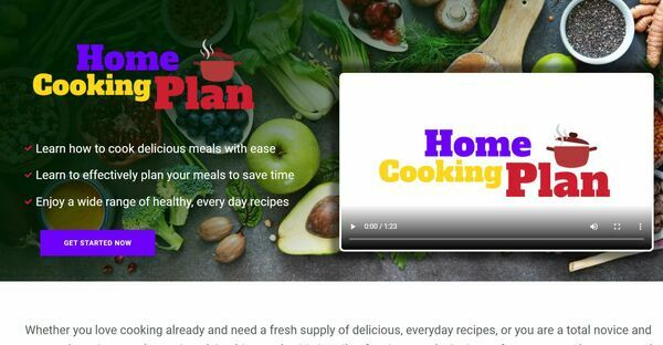 HomeCookingPlan.com - Cooking and Recipe Book Bundle Store, Digital Product, Wordpress/WooCommerce