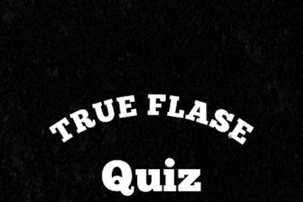 True or False Quiz - True or False Quiz Game - Great Potential