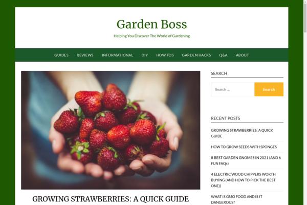 gardenboss.org - Gardening Authority Starter Site