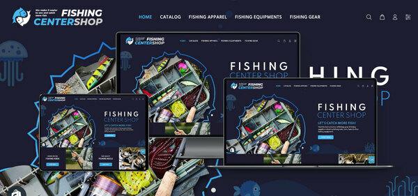 FishingCenterShop.com - PREMIUM SHOPIFY FISHING SUPPLIES DROPSHIP. Fully Automated. Profitable