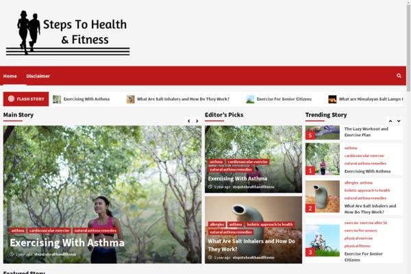 stepstohealthandfitness.com - blog health and fitness
