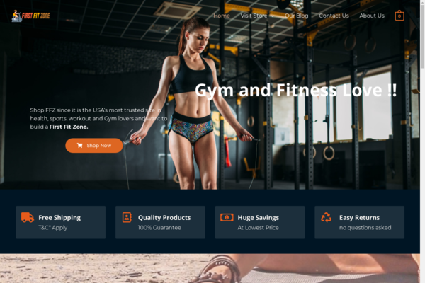 firstfitzone.com - Gym and Fitness Amazon Affiliate Website - firstfitzone.com
