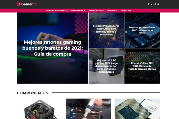 GamerPC - A 5-year profitable hardware and gaming affiliate site in Spanish earning $469/month in 2021. Just 3 hours per week. Great growing potential.