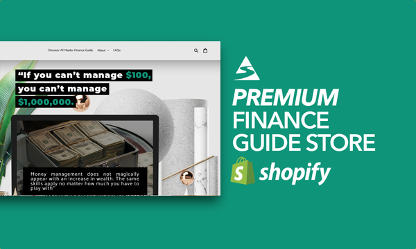MasterFinanceGuide.com - Password: 1234   Financial Ebook Digital Product Shopify Store For Sale