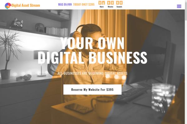 DigitalAssetStream.com - Own Your Own Digital Services Business Agency