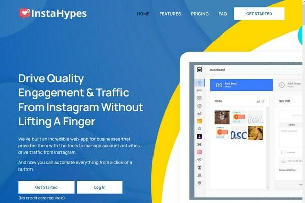 InstaHypes -  SaaS Marketing & Scheduling Platform For Instagram Marketers