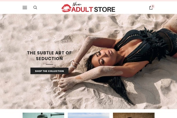 NewAdultStore.com - Professional Adult / XXX Dropship Store | 100% Automated | Password=123