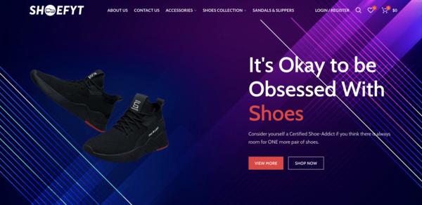 shoefyt.com - ShoeFYT.com -Premium Design Dropshipping Shoe and Accessories Niche Profitable
