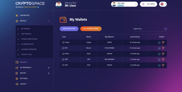 CryptoSpace.shop - Buy Crypto Space to start your business in crypto and fiat currency now