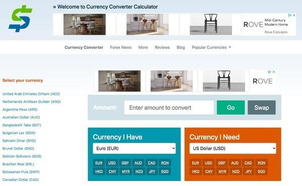 currency-converter-calculator.com - Marketplace / Business