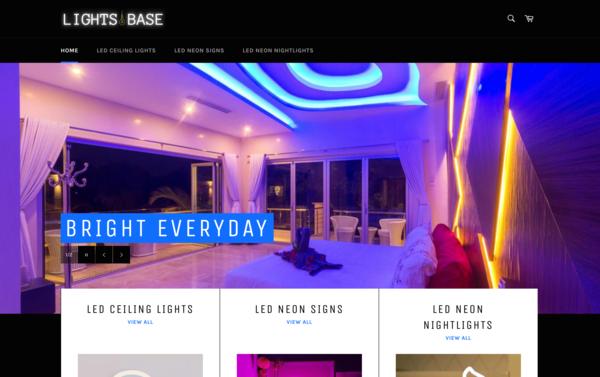 LightsBase.com - LightsBase.com - | NO RESERVE | LED Lights Store| $1,405 Domain Value