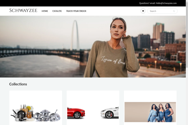 schwayzee.com - Edgy Online E-commerce Store, Pre-Loaded With Trending Products