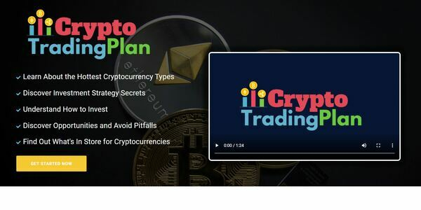 CryptoTradingPlan.com - Cryptocurrency Course Store, Digital Product, Wordpress/WooCommerce