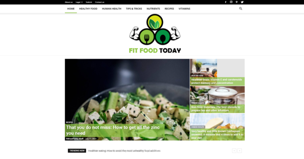 FitFoodToday.com - FitFoodToday.com: Food, Health, Diet, Nutrition