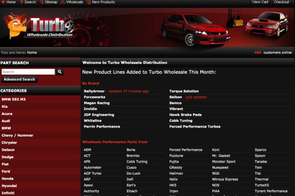 turbowholesale.com - e-Commerce / Automotive