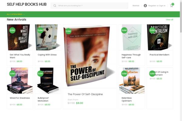 newselfhelpbooks.com - Newbie Friendly Fully Functional Automated Ebooks store. Make upto $5k Per Month