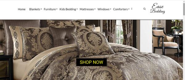 easebedding.com - Advertising / Home and Garden