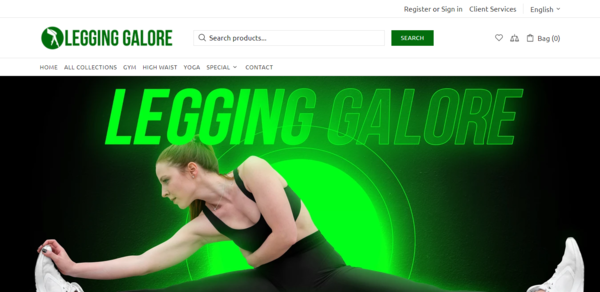 LeggingGalore.com - SUPPLIERS INTEGRATED,1-3 Days Delivery, USA Suppliers