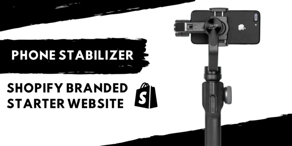 z-stick.com - Electronic Phone Stabilizer | Branded Automated Shopify One Product Store