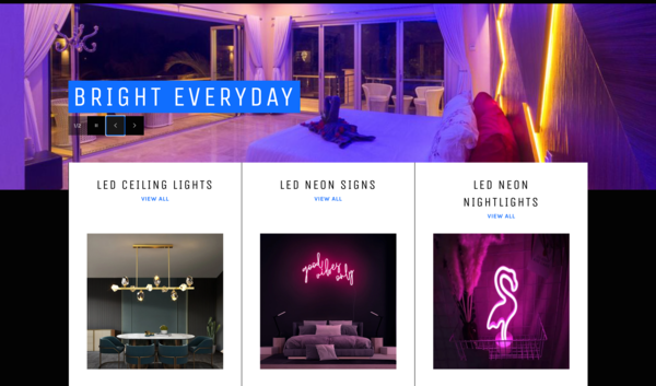 RequestLight.com - Dropship Premium LED Chandeliers, Neon Signs & NightLights|Unique Opportunity|Highly Profitable|New User Friendly | Automated Fulfilment | Password: 123