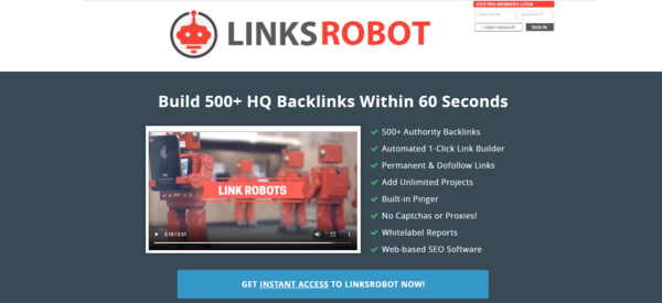 LinksRobot.co - SEO Software (SAAS) - $26,000+ Revenue in 24 Months