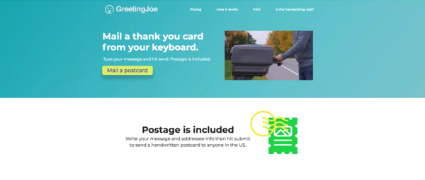 GreetingJoe.com - 100% Automated   Greeting Cards SaaS Website   Passive Income Ecommerce