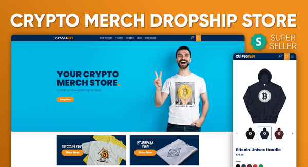 CryptoTees.cc - CryptoTees.cc   Cryptocurrency Clothing & Merch   US Supplier   POD