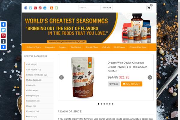 worldsgreatestseasonings.com - World's Greatest Seasonings.