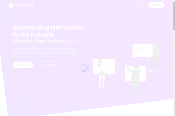 tweetapply.com - Twitter Marketing Tool ( Standalone Web App )
