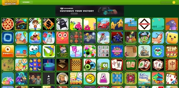 playthearcade.com - PlayTheArcade.com - Fully AUTOPILOT Arcade Gaming Platform (Premium Domain)