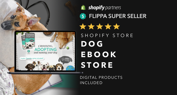 DoggieKnowHow.com - Password: 1234 | Dog Niche Ebook Shopify Store For Sale Startup Streams