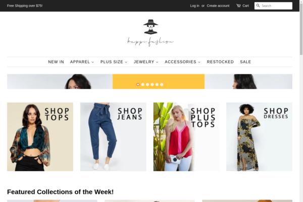 kappi.fashion - Dropship Fashion Shopify Store