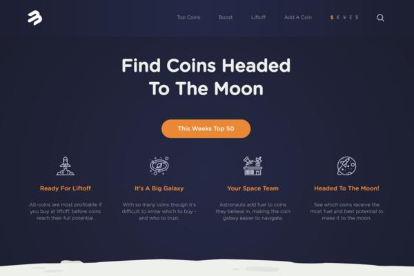 moonbucks.net - MoonBucks is a crypto voting site for low priced tokens.