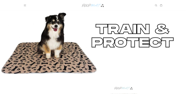 thepupmat.com - Pet Pee Mat   Branded Automated One Product Store