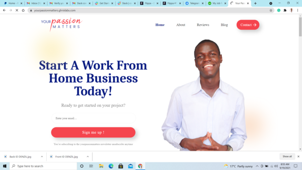 Your Passion Matters - This is a 1-year old make money online blog started with an intention to educate those who'd want to make money online through freelancing.