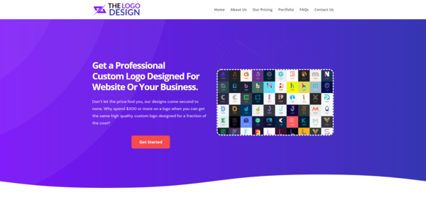 thelogodesign.co - Logo Design Agency, Newbie Friendly, Fully Outsourced, Net Profit - $476 per/mo