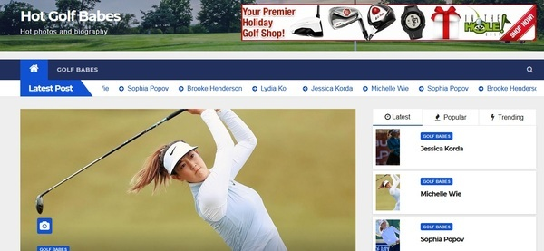 Golf adsense and affiliate website - High quality and traffic golf website, making 100+ USD/mo from Adsense, Affiliates, and direct Advertisers. Suitable for Amazon.