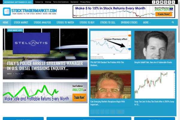 stocktradermarket.com - 100% Automated Stocks Site - 2 Years Free Host BIN + Great Bonuses