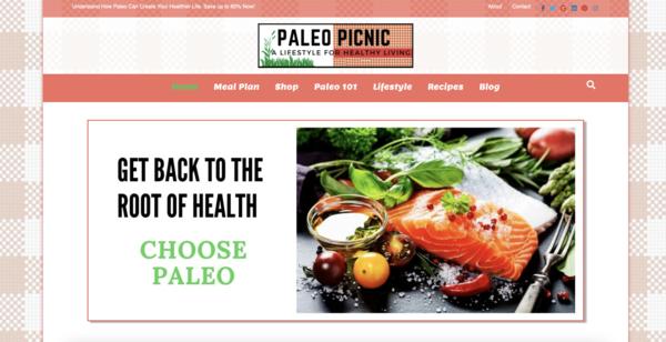 PaleoPicnic.com - Fast Loading & Optimized Visitor's. Paleo Estore/Blog 100% Autopilot. Newbies :)