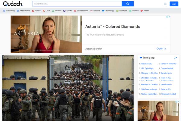 qudach.com - Fastest Growing news aggregator & Search engine of sale.