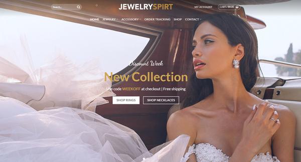 Jewelryspirt.com - JEWELRYSPIRT.COM - Professional Jewelry store READY-TO-GO! 3,000+ Pre-loaded inv