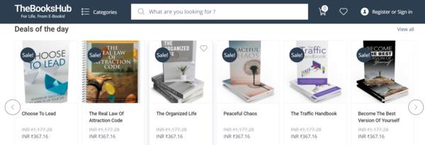 thebookshub.com - Newbie Friendly Fully Functional Automated E-Books(PDF, Audio & Video) store.