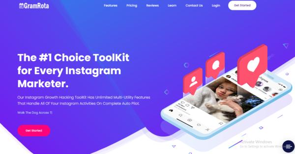GramRota.com - Instagram Automation,Growth & Management Saas.Schedule,Autopublish,Autolike etc
