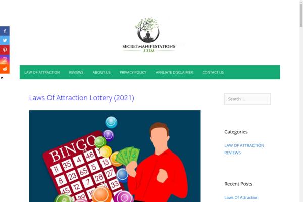 secretmanifestations.com - Clickbank Affiliate site made revenue $1413 in the last 1 year