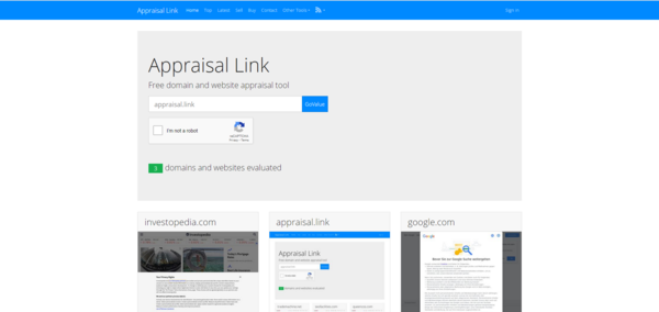 Appraisal.link - Hottest Offer:4-In-1 Automated Tools / Brandable Premium Domain / Appraisal.Link