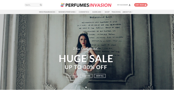 PerfumesInvasion.com - PERFUMESINVASION.COM Professional Perfume store 8,000+ inventory USA Supplier